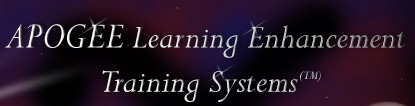 Apogee Learning Enhancement Training Systems